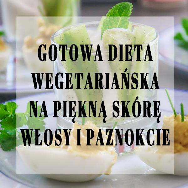 gotowa dieta wegetariańska